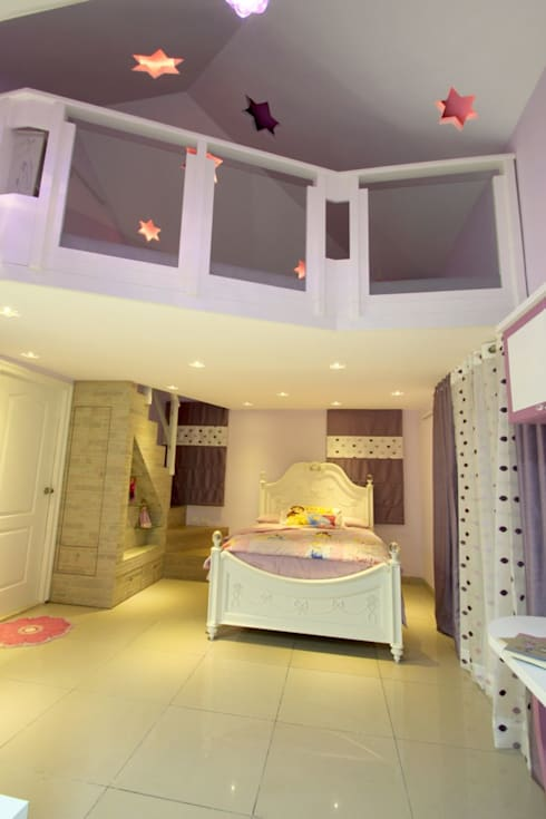Interior Decoration:  Nursery/kid's room by The Inner Story