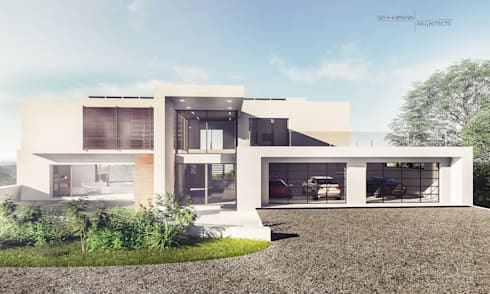 Street View: modern Houses by Gottsmann Architects