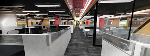 Working Area:  Corridor & hallway by Much Creative Communication Limited