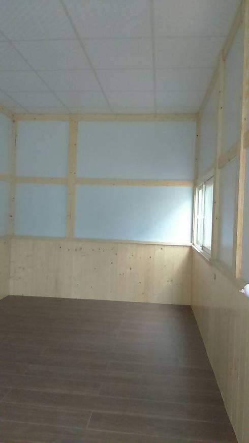 鋼構儲藏空間:  牆面 by 鄉村家園開發股份有限公司