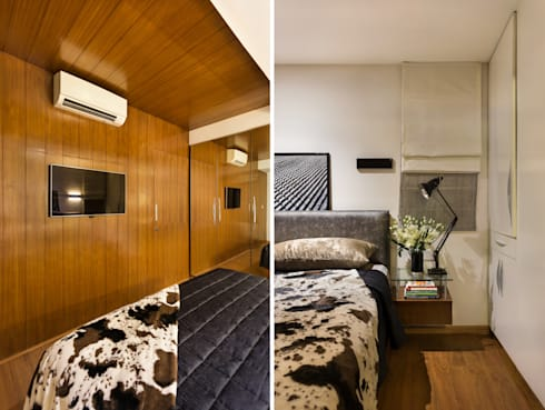 Kalyan Penthouse / Apartment Interiors: modern Bedroom by Source Architecture