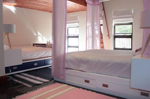 Twins Bedroom: eclectic Bedroom by Covet Design