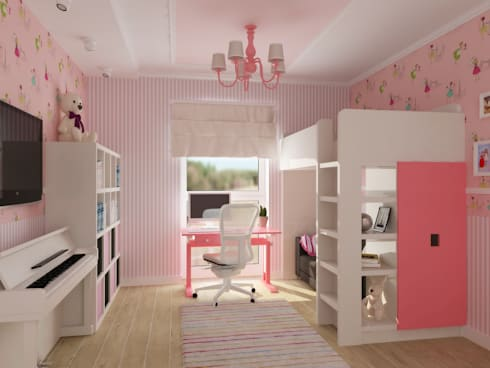 kinderzimmer f r m dchen und jugendzimmer berlin 2015 2016 von nk line homify. Black Bedroom Furniture Sets. Home Design Ideas