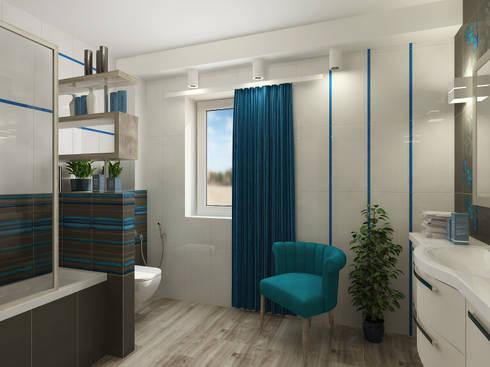 Badezimmer: Moderne Badezimmer Von NK Line I Natascha Kuzmenko I Modernes  Interior Design