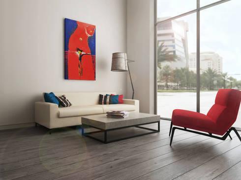 moderne kunst f r zuhause von nk line homify. Black Bedroom Furniture Sets. Home Design Ideas