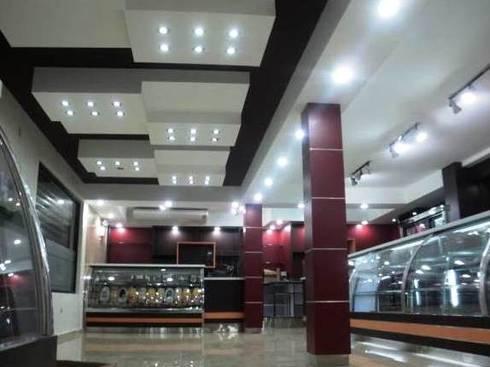 Panadería Orfebre.: Restaurantes de estilo  por SCABA EQUIPAMIENTO Y ARQUITECTURA COMERCIAL , C.A.