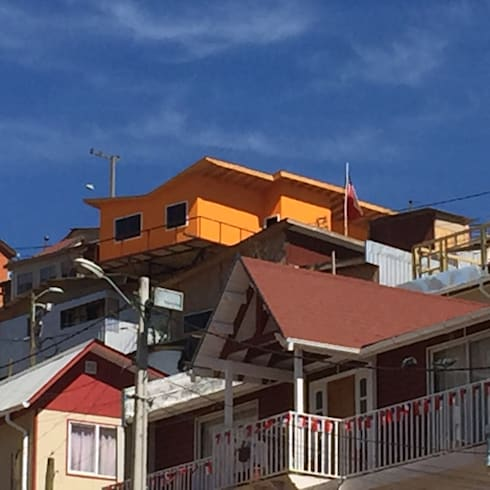 Casa  A-V: Casas de estilo moderno por Rodrigo Chávez Arquitecto
