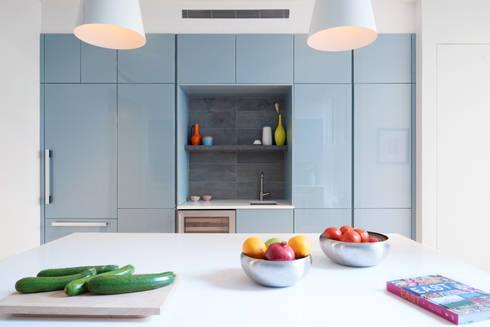 Park Slope Townhouse: modern Kitchen by Sarah Jefferys Design