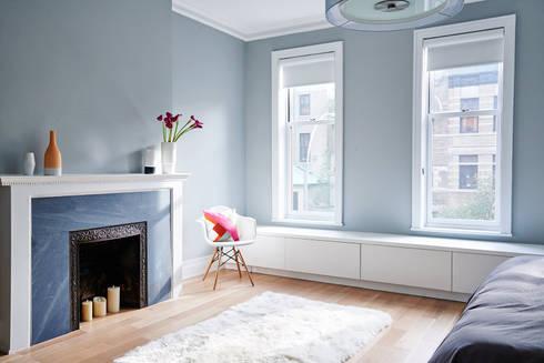 Park Slope Townhouse: modern Bedroom by Sarah Jefferys Design
