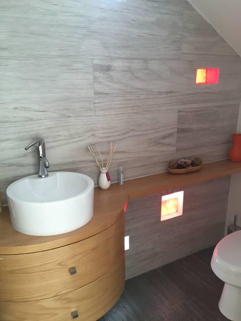 Interior: Baños de estilo  por Cahtal Arquitectos