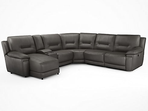 Large Leather Corner Sofa: Modern Living Room By Sofas In Fashion