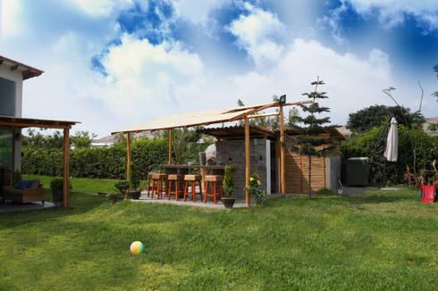 Una CASA DE CAMPO para soñar: Jardines de estilo rústico por malu goni
