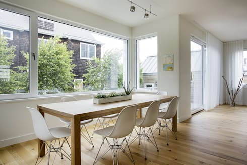 Dining: modern Dining room by ZeroEnergy Design