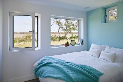 Bedroom: modern Bedroom by ZeroEnergy Design