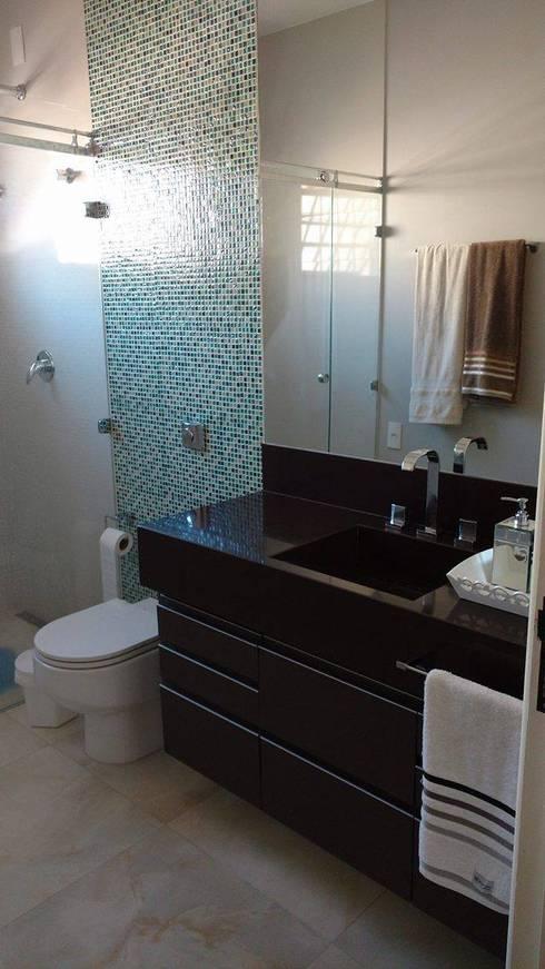 Banheiro suíte - como ficou!:   por Mais Arquitetura 34