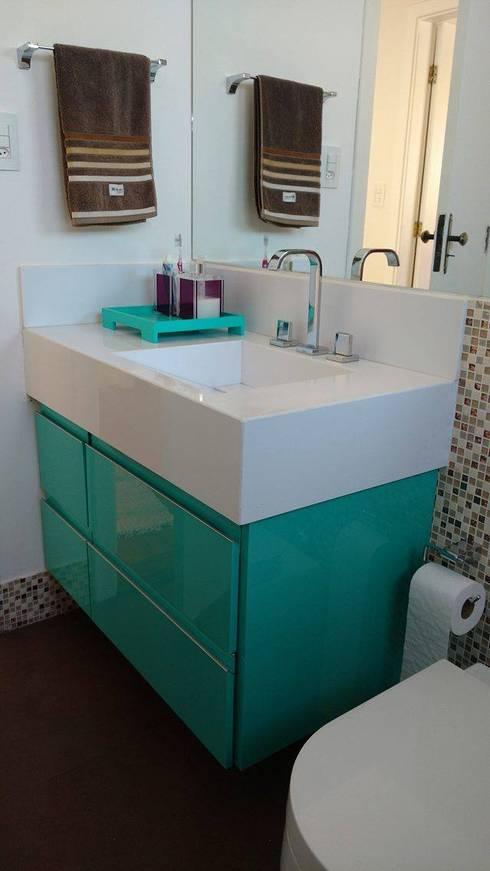 Banheiro social - como ficou!:   por Mais Arquitetura 34