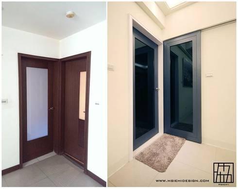 門片設計:  窗 by 協億室內設計有限公司