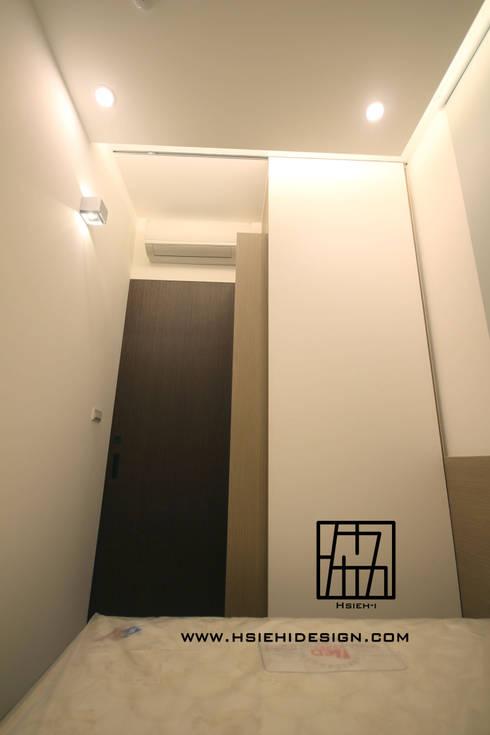 次臥室:  臥室 by 協億室內設計有限公司