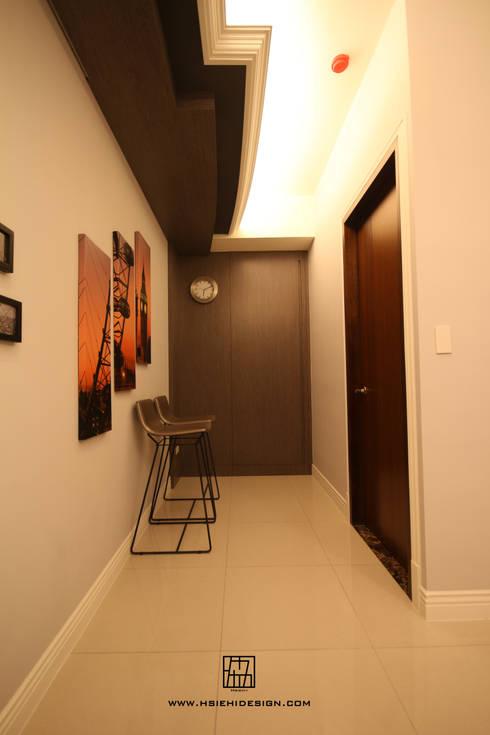 廊道:  走廊 & 玄關 by 協億室內設計有限公司