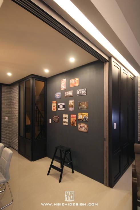 牆面設計:  牆面 by 協億室內設計有限公司