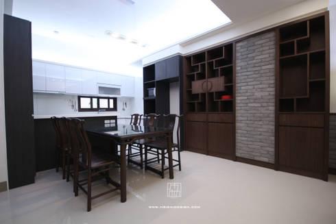 餐廳:  餐廳 by 協億室內設計有限公司