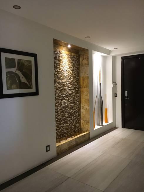 Paredes y pisos de estilo  por Spazio3Design
