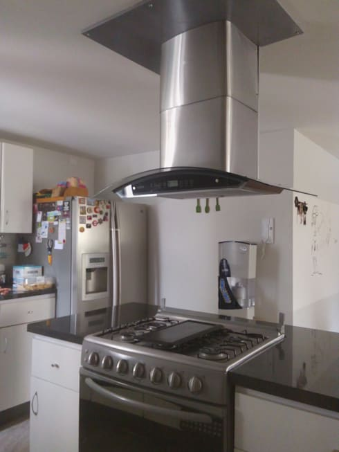 Remodelación de cocina interlomas:  de estilo  por Spazio3Design