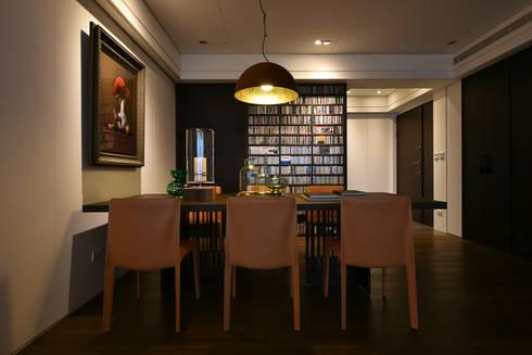 餘音繚繞:  餐廳 by 沐朋設計
