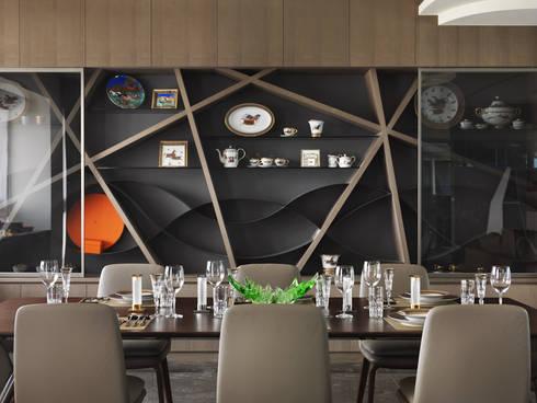 符號:  餐廳 by 拾雅客空間設計