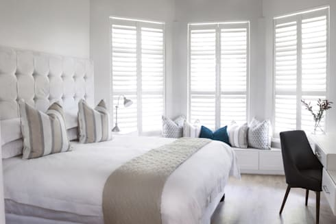 Bedroom two: colonial Bedroom by Salomé Knijnenburg Interiors