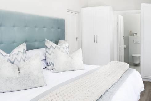Bedroom 3: colonial Bedroom by Salomé Knijnenburg Interiors
