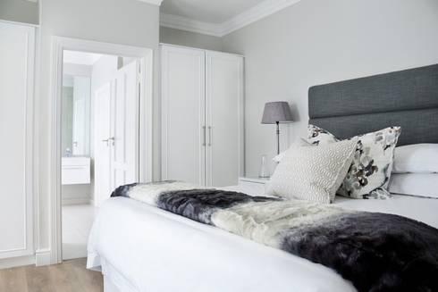 Bedroom 4: colonial Bedroom by Salomé Knijnenburg Interiors