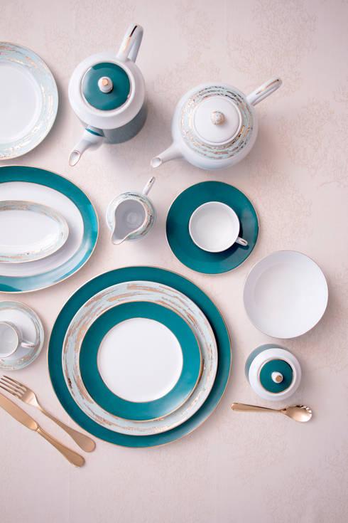 Dining room by Porcel - Indústria Portuguesa de Porcelanas, S.A.