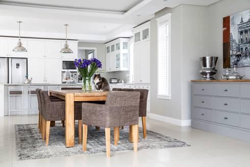 Dining room: classic Dining room by Salomé Knijnenburg Interiors