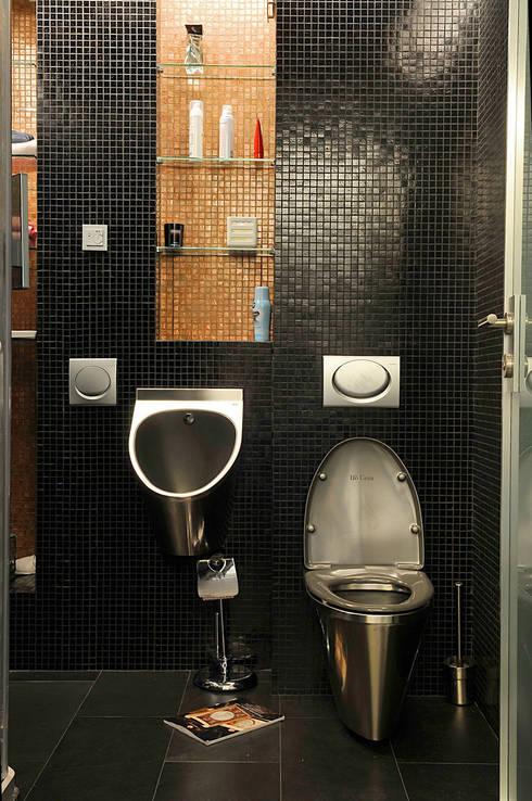 Projekty,  Łazienka zaprojektowane przez Архитектор и дизайнер Михаил Топоров
