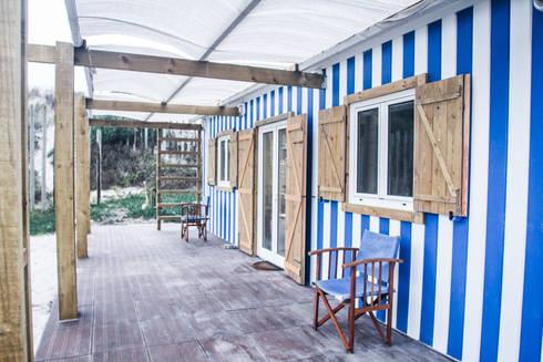 Casa da Barra: Casas mediterrânicas por Artglam, Lda