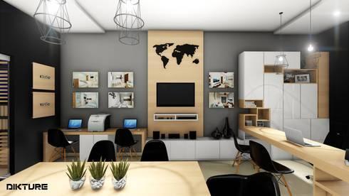 OFICINA - DESARROLLO INMOBILIARIO de DIKTURE Arquitectura + Diseño ...