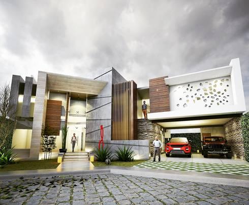 Casa moderna de vision arquitectos homify - Arquitectos casas modernas ...