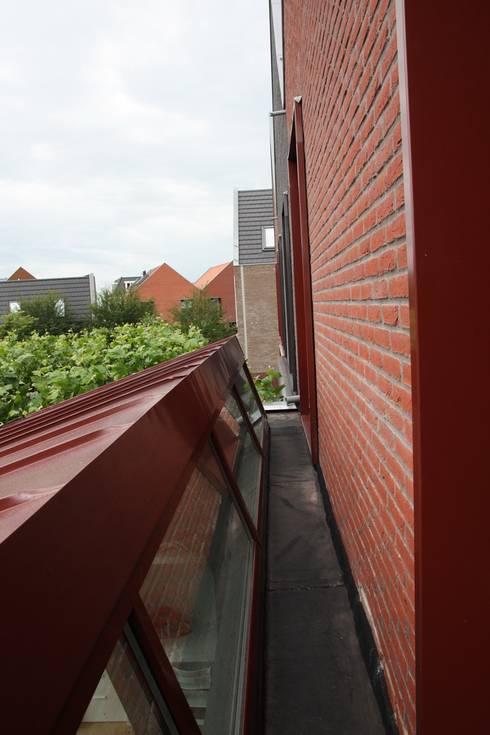 Moderne Uitbouw :  Ramen door Architectenbureau Jules Zwijsen