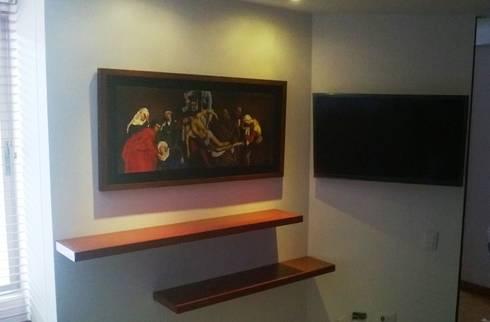 PROYECTO APARTAMENTO CALLE 151: Habitaciones de estilo moderno por bdl concept/studio