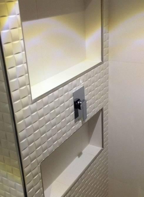 PROYECTO APARTAMENTO CALLE 151: Baños de estilo moderno por bdl concept/studio
