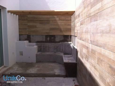 Remodelaci n de patio casa metropolitano by unikco for Remodelacion de casas
