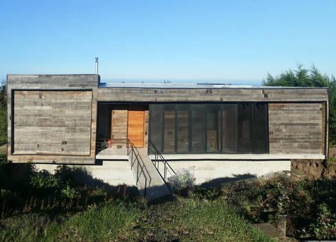Casa Cantagua: Casas de estilo moderno por F+F Arquitectos