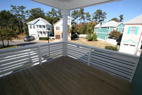 Collins Model Home – Devonshire Place at Bermuda Bay in Kill Devil Hills, NC:  Patios & Decks by Outer Banks Renovation & Construction