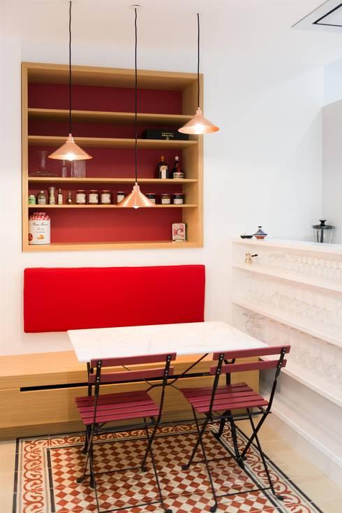 Autour d'une Cuisine dînatoire : Cuisine de style de style Moderne par ATELIER FB