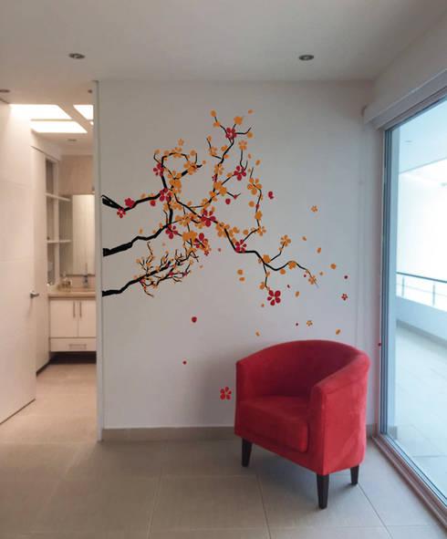 El Peñon : Dormitorios de estilo  por Outline Design