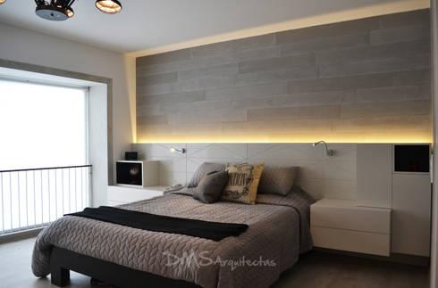 Departamento Barranco: Dormitorios de estilo  por DMS Arquitectas