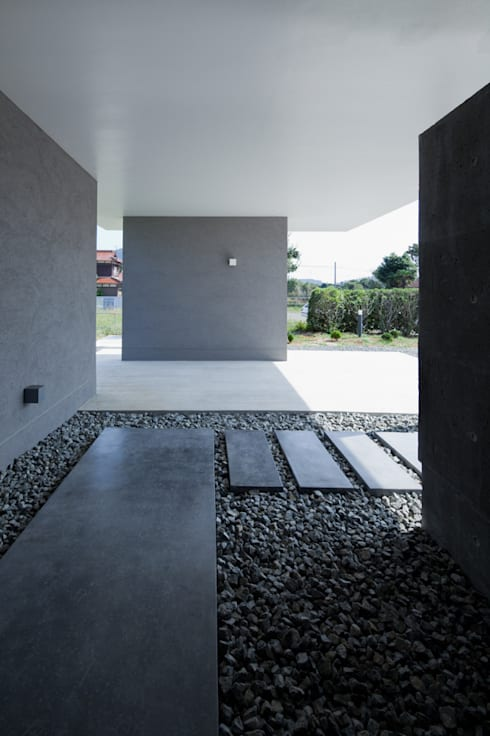 森裕建築設計事務所 / Mori Architect Office:  tarz Koridor ve Hol