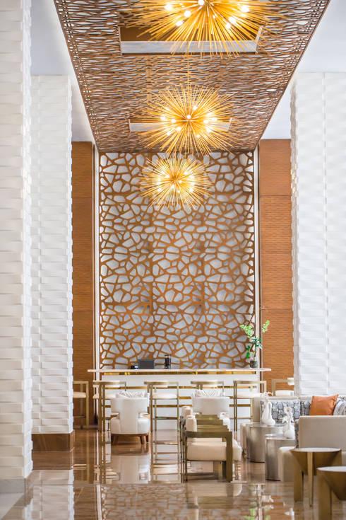 Wallart 3d wall decor 39 vaults 39 in waldorf astoria hotel in for Design hotel waldorf