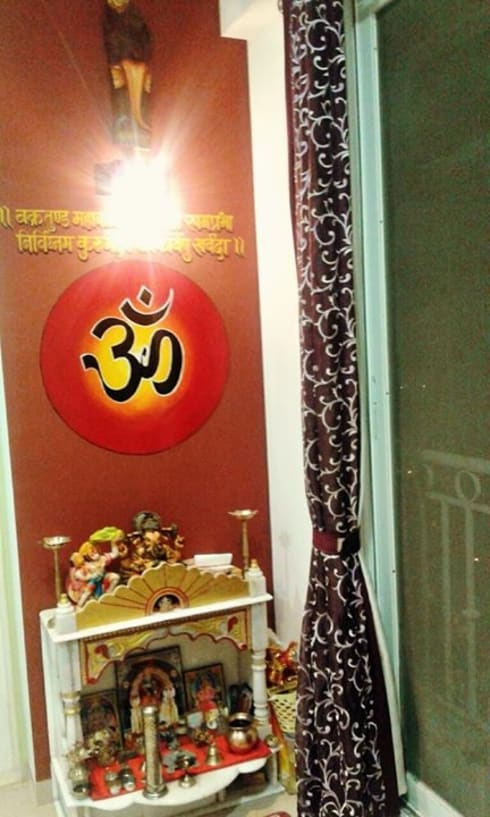 3 BHK RESIDENTIAL PROJECT @2014:  Bedroom by SHARADA INTERIORS